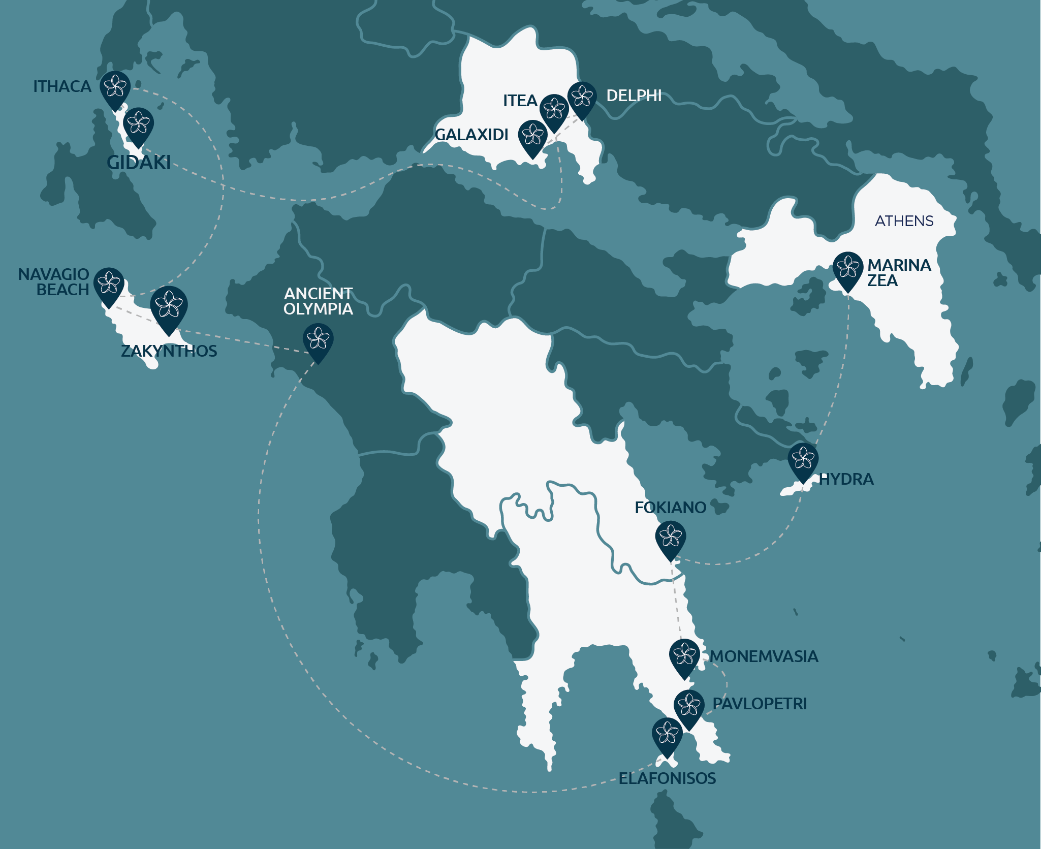 ancient paths cruises map